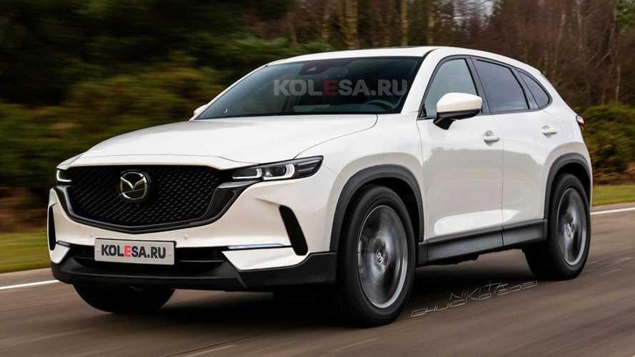 Resmi olmayan 2022 Mazda CX-50 render'ları sizi şaşırtacak