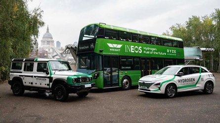 Ineos Grenadier bekommt Brennstoffzelle von Hyundai