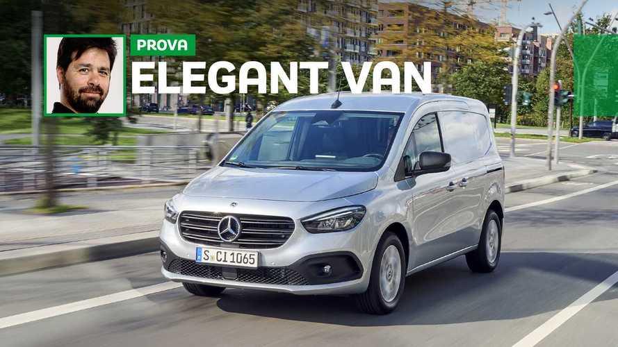 Mercedes-Benz Citan, la prova che si può trasportare con stile