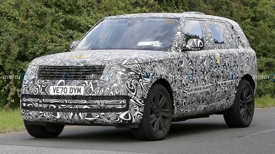 Yeni nesil şarj edilebilir hibrit Range Rover Nürburging'e çıktı