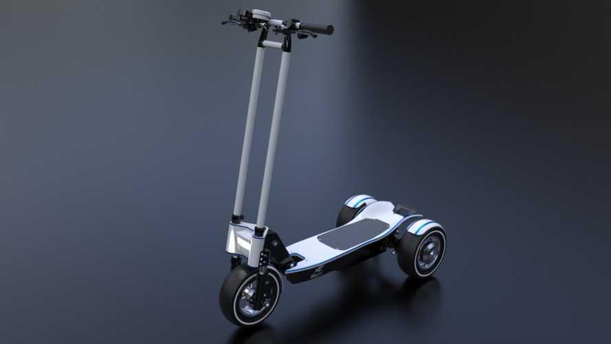 Israeli Startup Skyer Motors Unveils Ultra Fast Electric Scooter