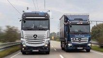 Mercedes GenH2: Straßenzulassung für Brennstoffzellen-Lkw erteilt