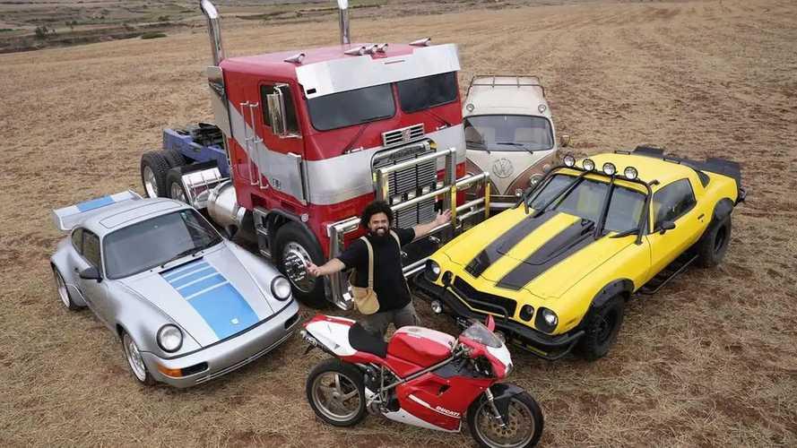 Porsche, Nissan Skyline, VW Bus, Bintangi Transformers Terbaru