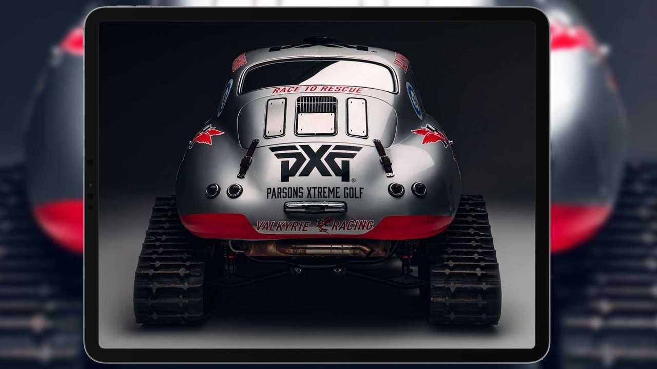 Porsche 356 On Treads
