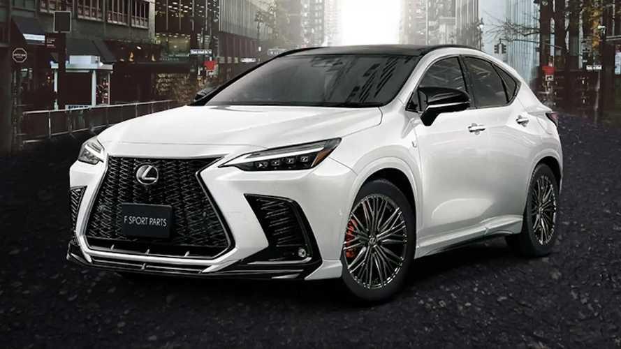 A Modellista is bemutatta új csomagját a Lexus NX-hez