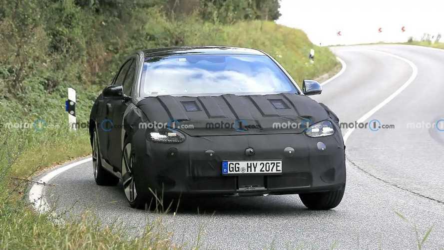 2022 Hyundai Ioniq 6 Yeni Casus Fotoğraflar