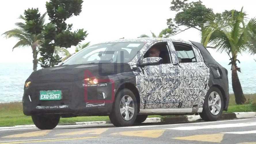 Chevrolet Onix 2020 - Novos flagras