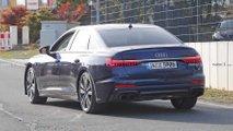 2019 Audi S6 Kamuflajsız Casus Fotoğrafları