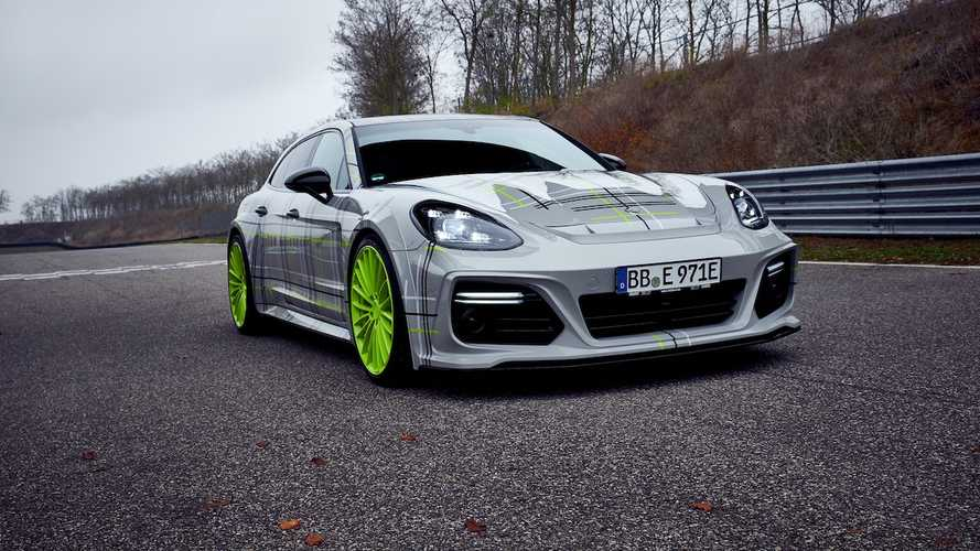 This Panamera Turbo S E-Hybrid gains even more power