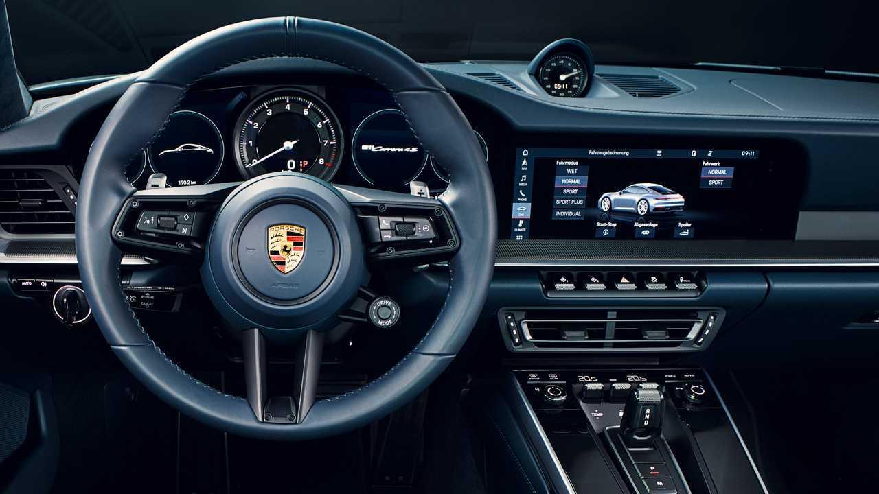 992 Porsche 911 Driver View
