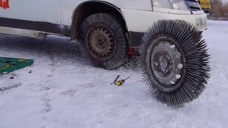 What Happens If You Replace Tires With 3,000 Nails?