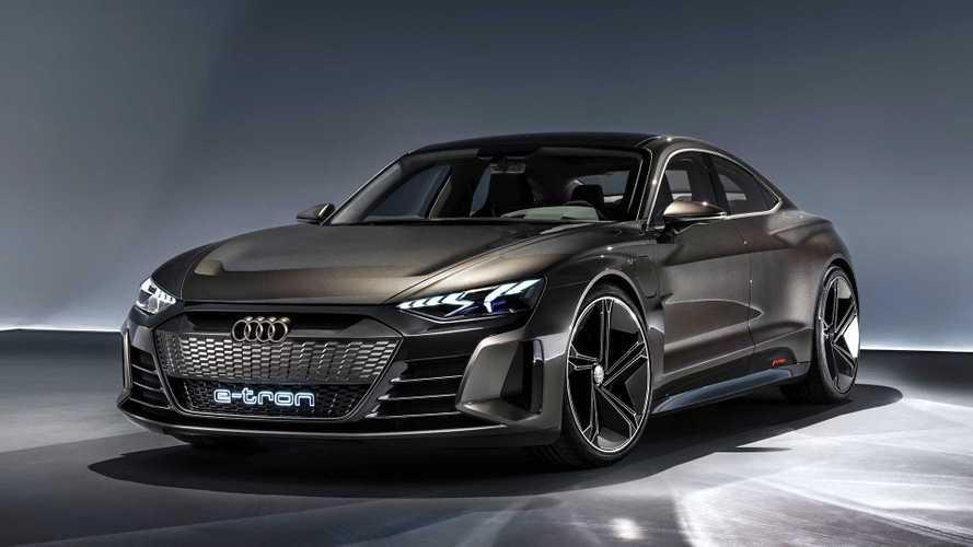 2020-tól sorozatgyártott változat is készül az Audi e-tron GT-ből
