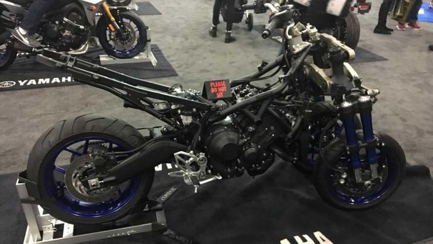 The Yamaha Niken Gets Naked At IMS