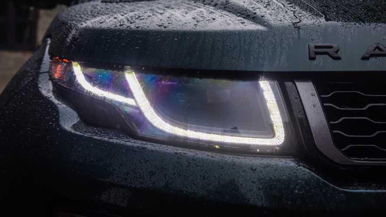Range Rover Evoque LED daytime running lights