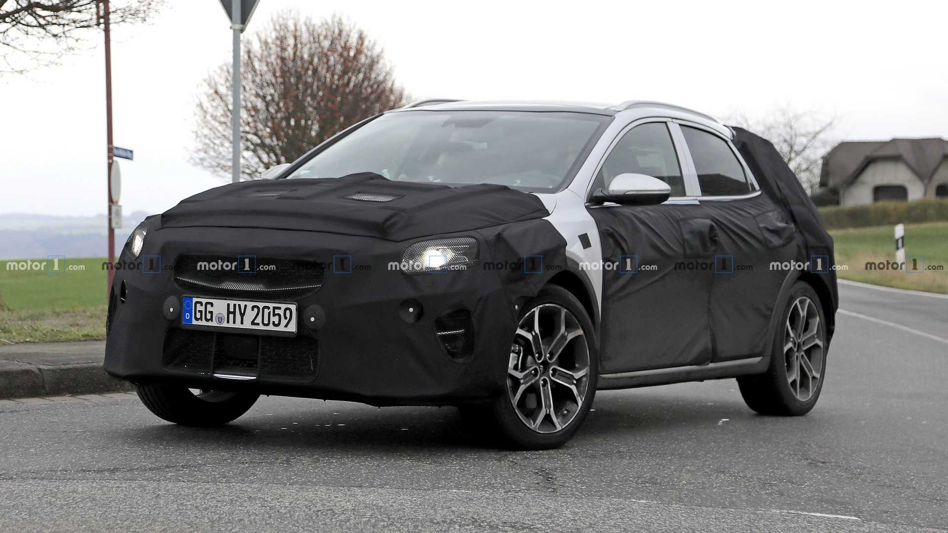 2020 Kia Ceed Suv Caught Up Close And Personal