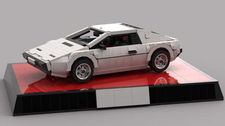 Lotus 'Wet Nellie' Esprit S1 Could Live Twice As Lego Set