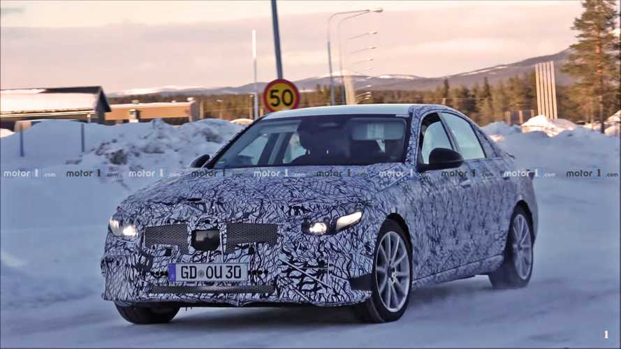 2021 Mercedes-Benz C-Class Spied On Video [UPDATE]