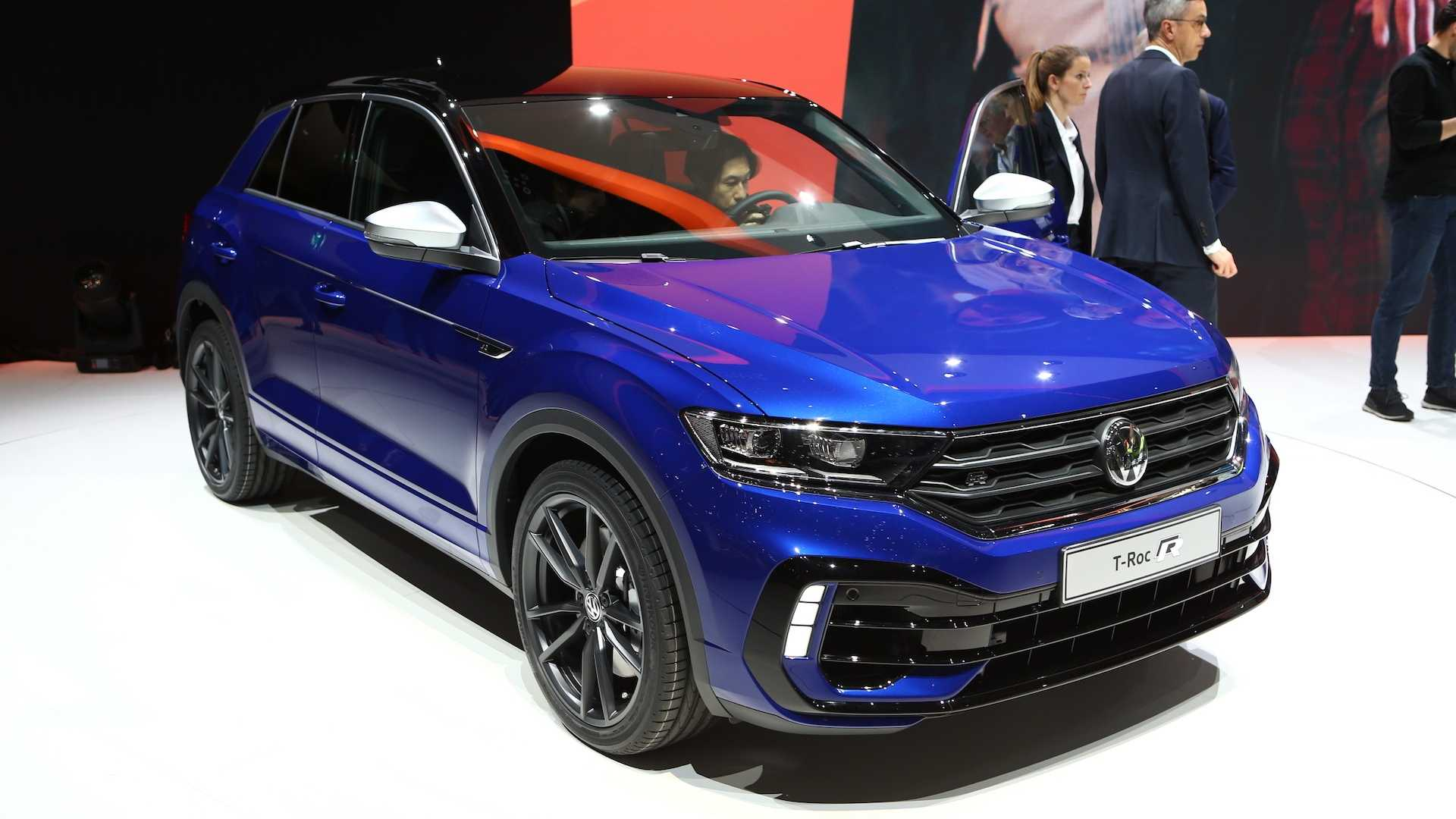 Vw T Roc R Powers Into Geneva With 300 Hp And Awd