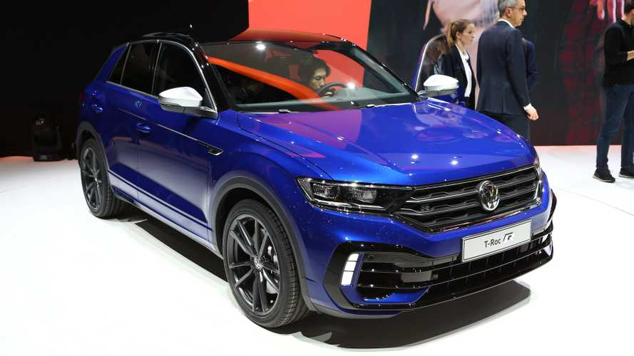 VW T-Roc R powers into Geneva with 296 bhp and AWD standard