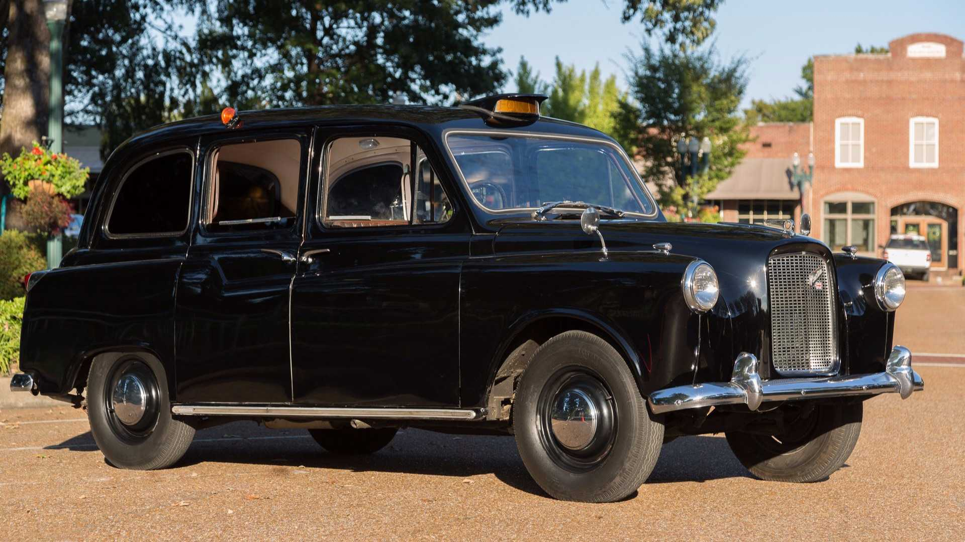 "[""This Austin FX4 Is The Real London Taxi""]"