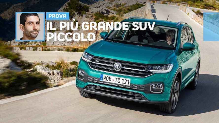 Volkswagen T-Cross, piccola eppur spaziosa: ecco come va