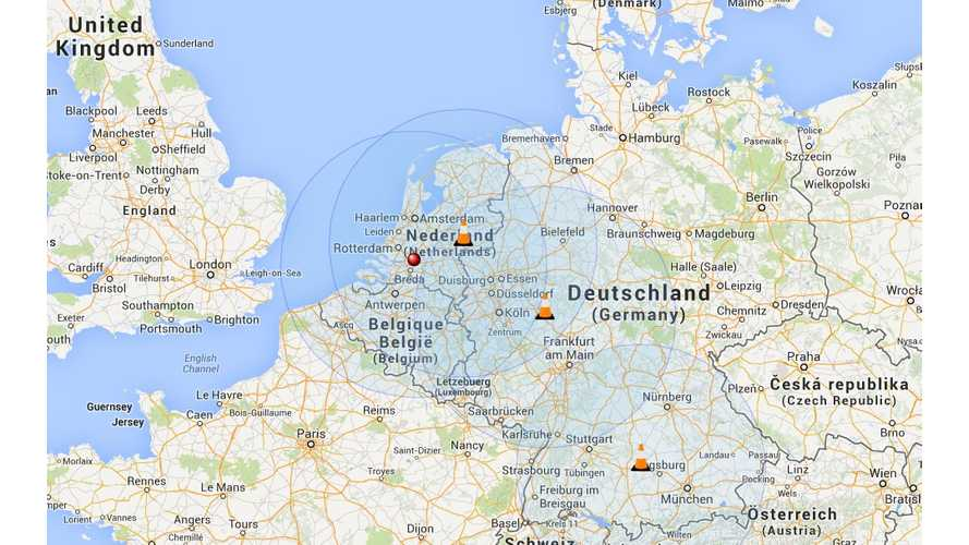 First Tesla Supercharger In Netherlands is Now ON (w/video)