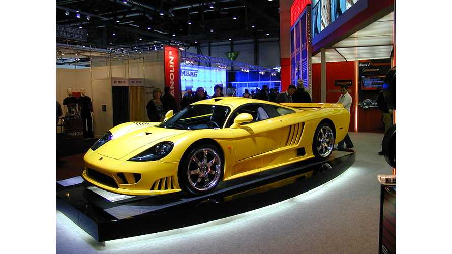Saleen to Reveal Electric Supercar in 2014