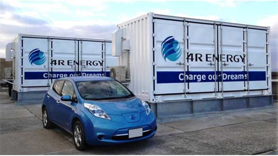 Sumitomo Installs Large-Scale Power Storage System Using 16 Old Nissan LEAF Batteries