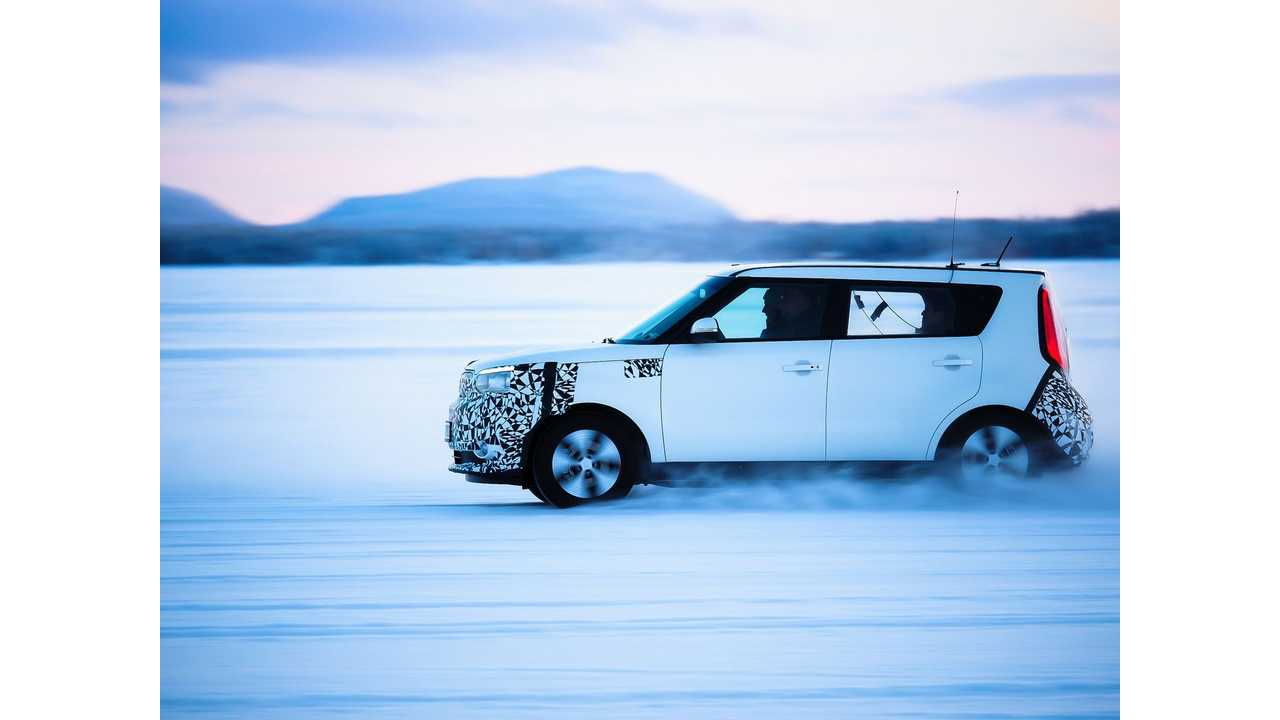 Kia Testing World's First Driver-Only Ventilation System For Soul EV in Extreme Winter