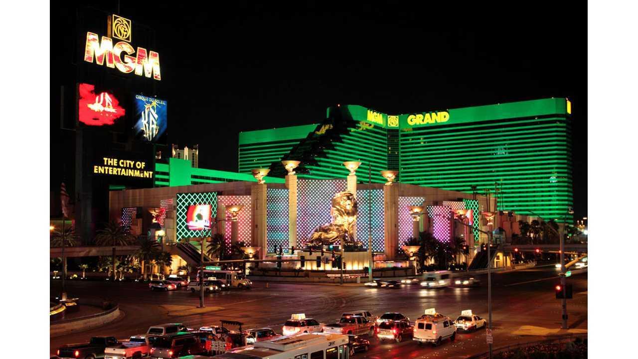MGM Resorts to Install 27 Charging Stations at 9 Las Vegas Locations