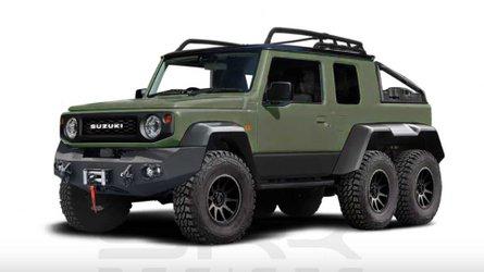 Suzuki Jimny, ora è diventato anche 6x6