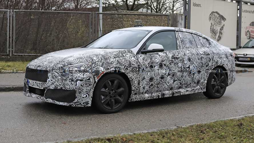 BMW 2 Series Gran Coupe 'Experimental Vehicle' Spied [UPDATE]