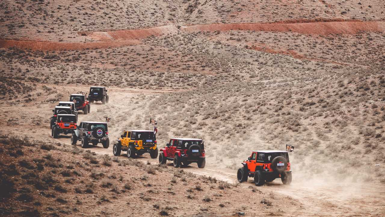 Jeep outdoor adventures