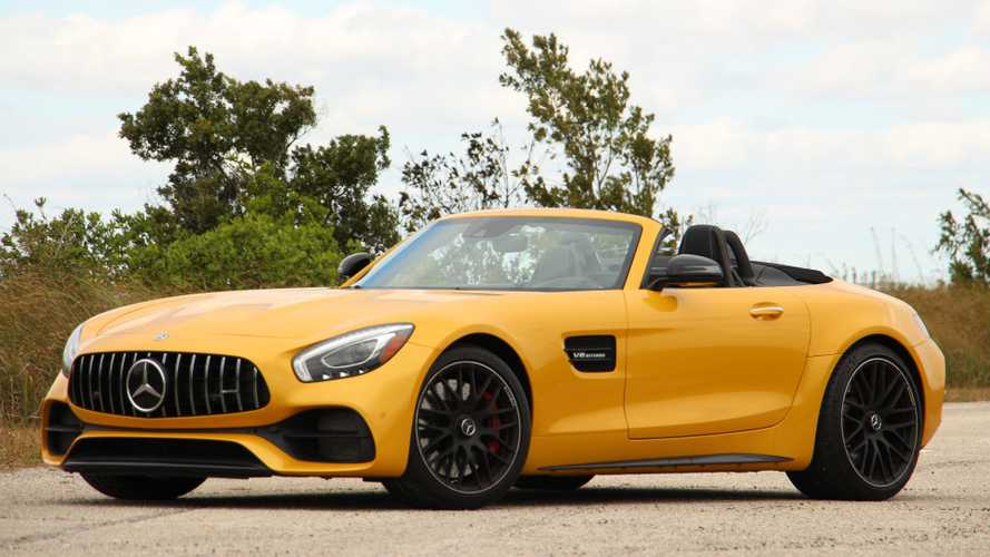 2019 Mercedes-AMG GT C Roadster Review: Fast Banana