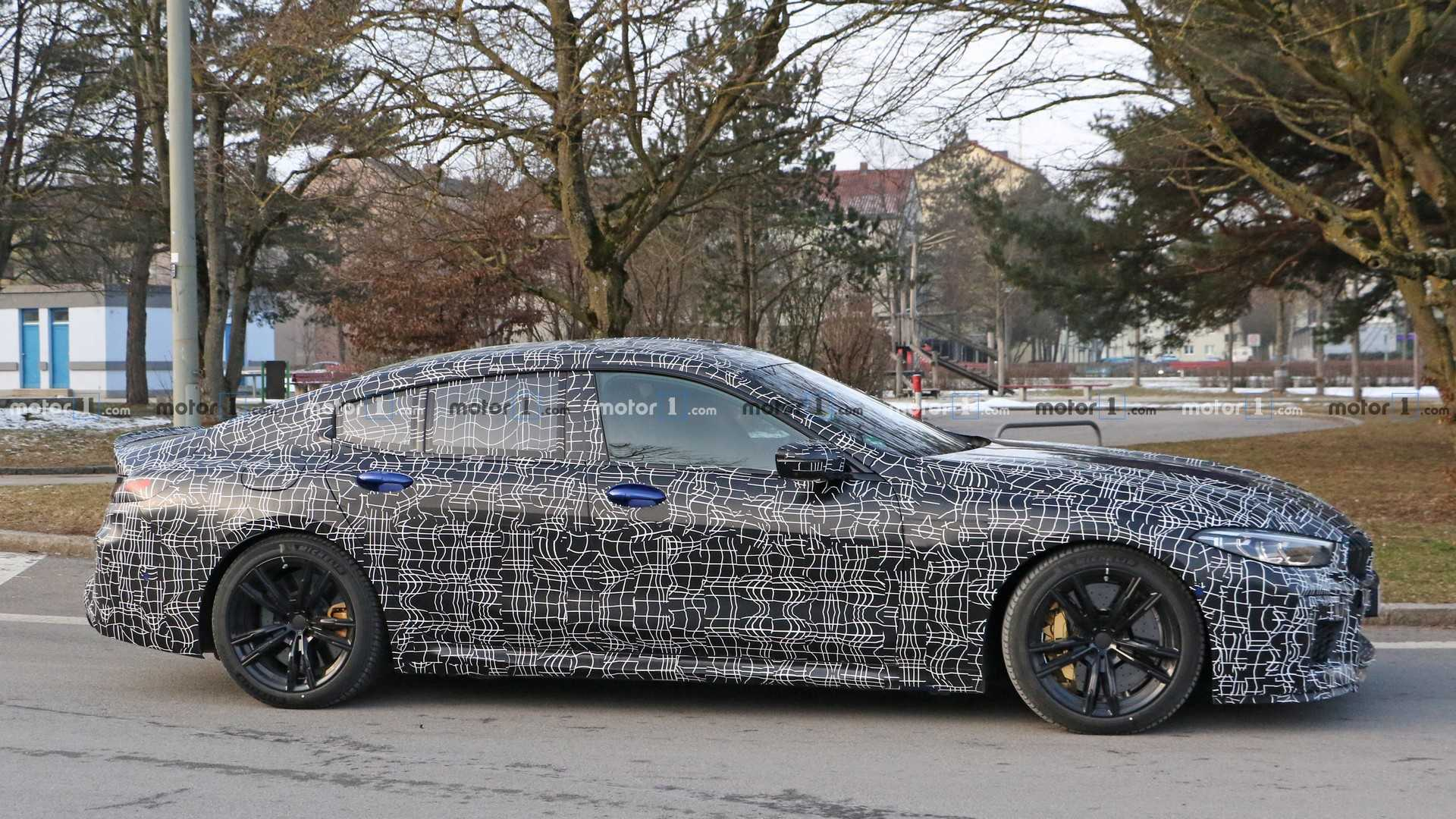bmw-m8-gra​n-coupe-sp​y-photo
