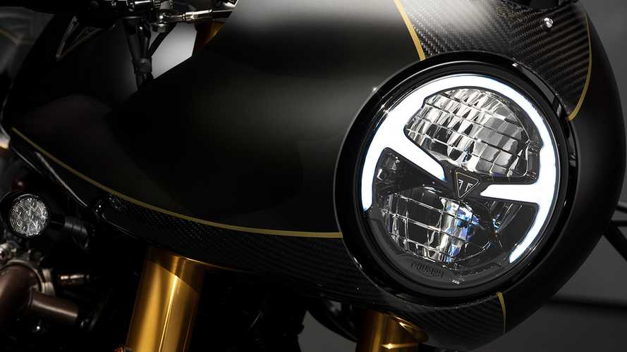 Unwrapped Like A Birthday Present: This Gorgeous Triumph Thruxton TFC