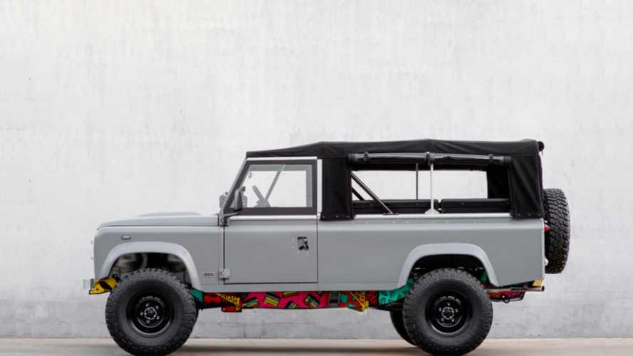 This 1983 Land Rover V8 Features a Totally Rad Art Chassis