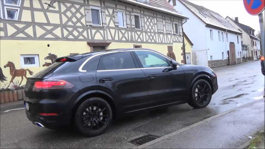 Watch Porsche Cayenne 'Coupe' get stalked On a rainy day