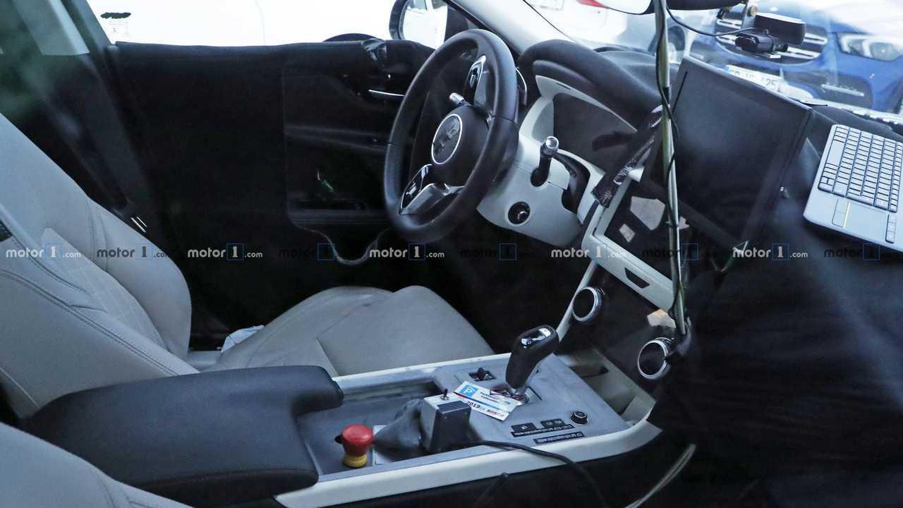 2020 Jaguar XE spy photo