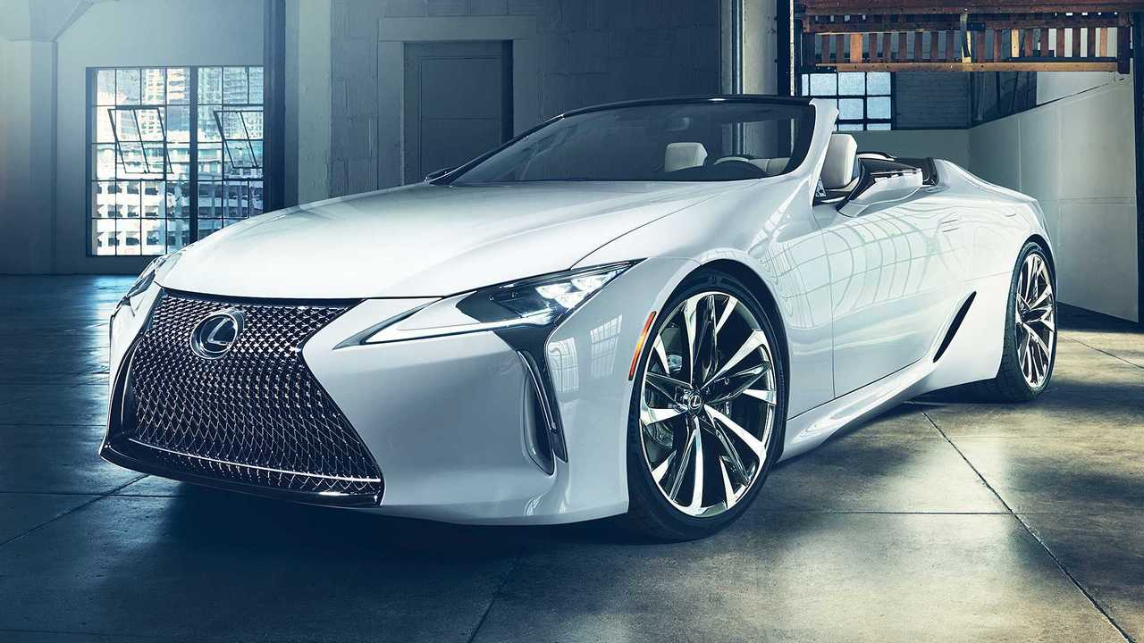 Best: Lexus LC Convertible Concept