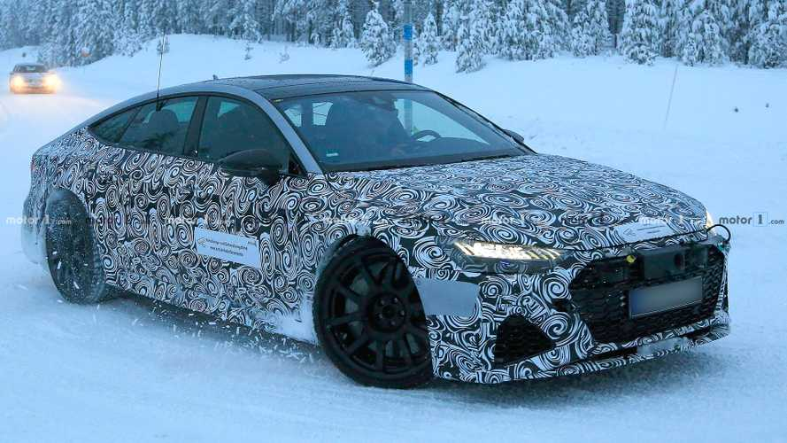 Audi RS7 Spied Looking Like Perfect Sleigh To Cut Through Snow