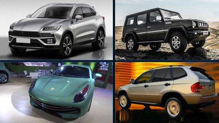 10 copias chinas de coches europeos: 'clones' desafortunados