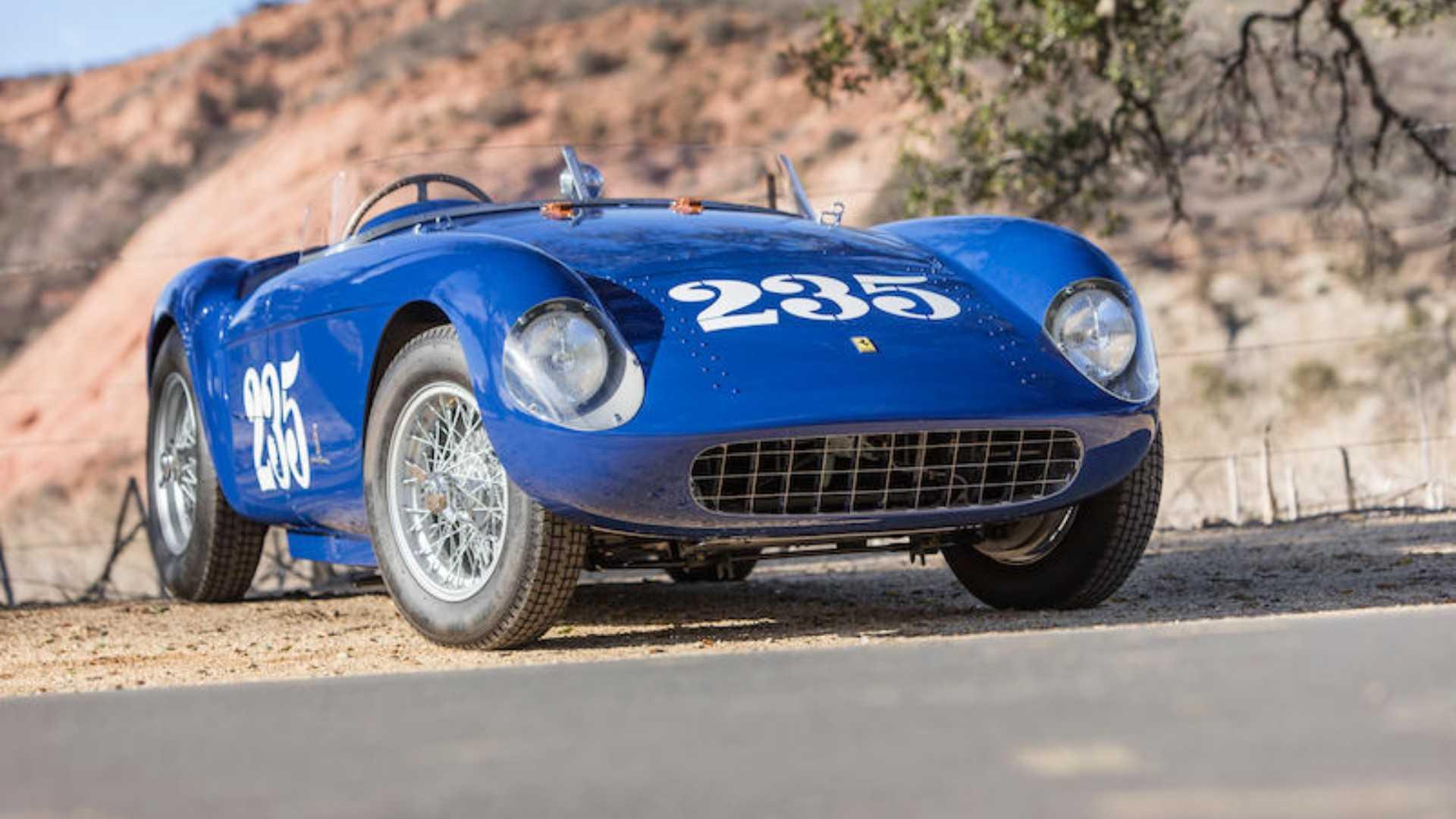 """[""""1954 Ferrari 500 Mondial Series I Spider""""]"""