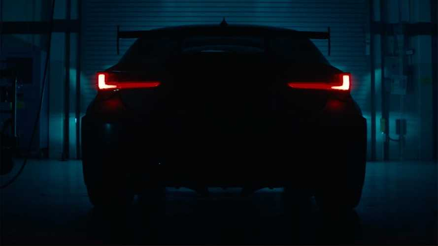 Lexus RC F Track Edition Teased Doing What It Does Best