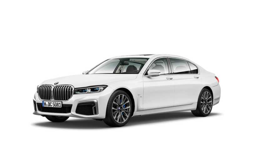 2020 BMW 7 Series facelift leaked official images