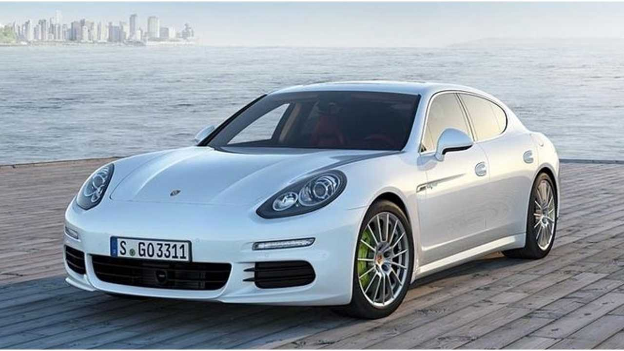 2014 Porsche Panamera S E-Hybrid Plug-In to Launch in Late 2013 with $99,000 Price Tag (Video)