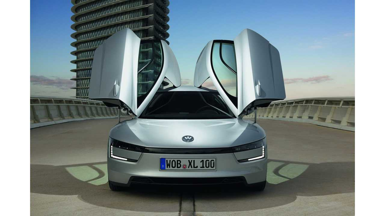 Volkswagen's 261 MPGe XL1 Will Go Into Production