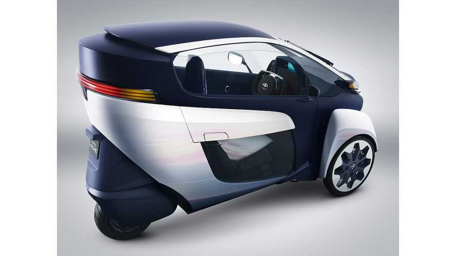 Toyota i-Road and COMS to Enter Electric Vehicle Sharing Scheme in France