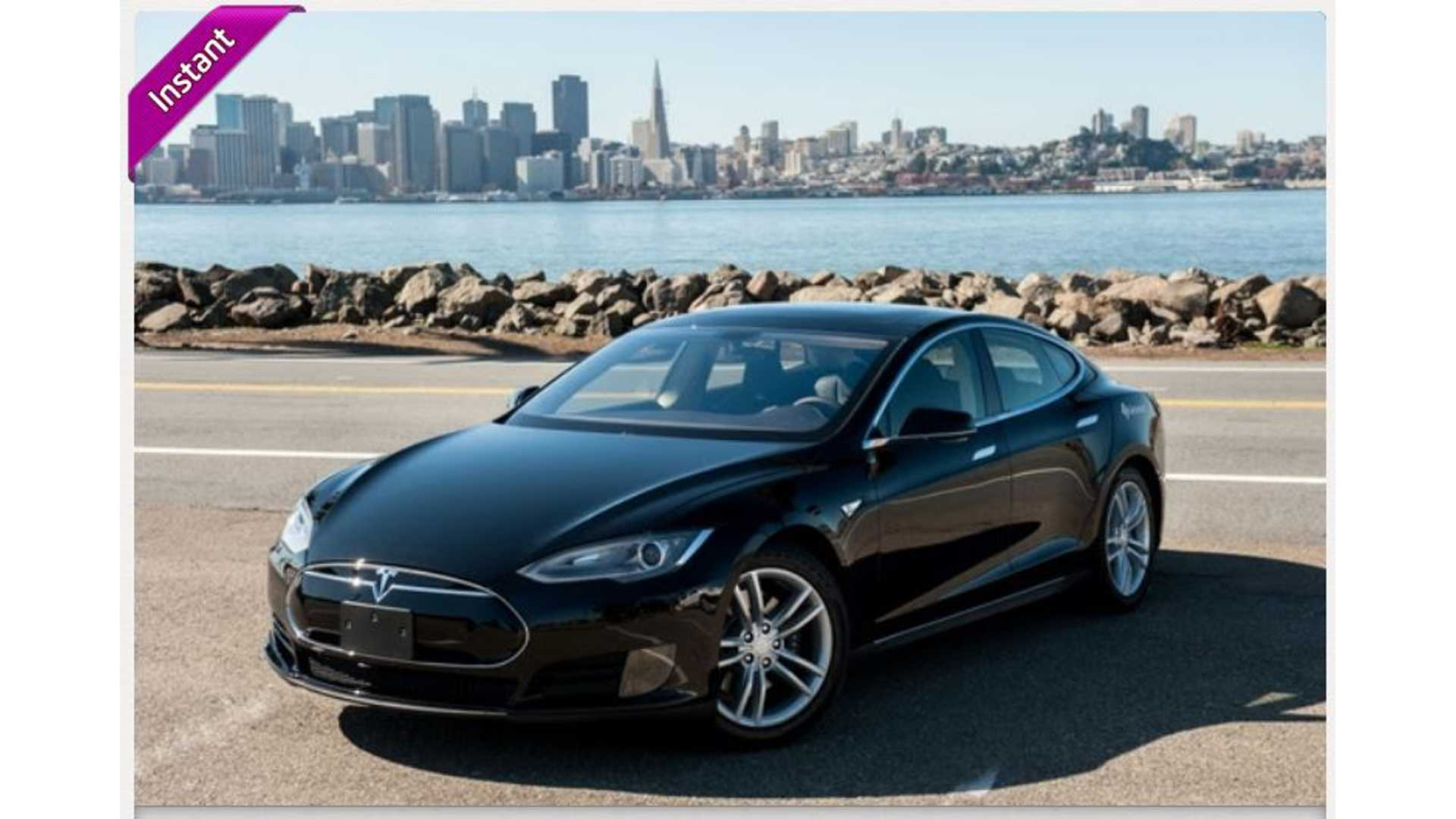 Interested in Renting a Tesla Model S for $20 Per Hour? Here's How