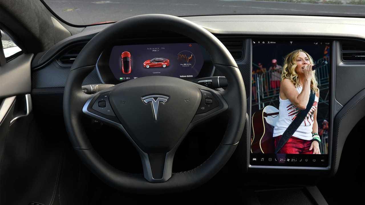 Sheryl Crow Tesla